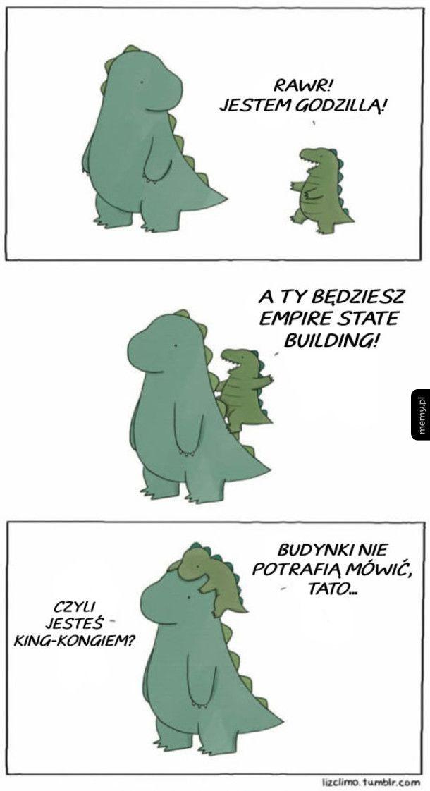Groźna Godzilla