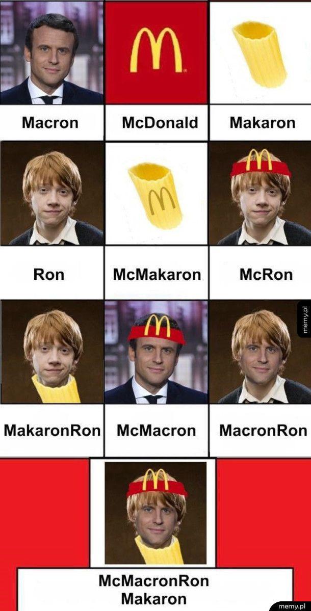 Śmieszki z Macrona