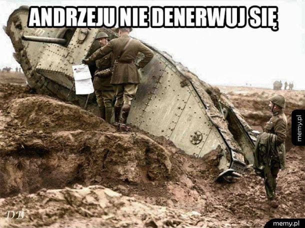 Andrzej z 1 wojny światowej