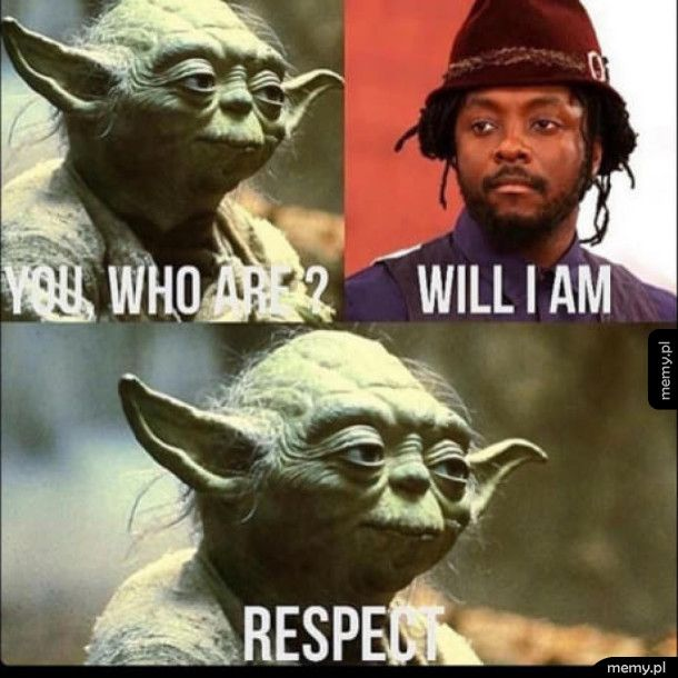 Idealny partner do rozmowy dla Yody