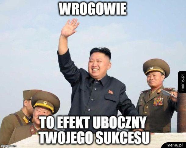 Kim Dzong Un człowiek sukcesu