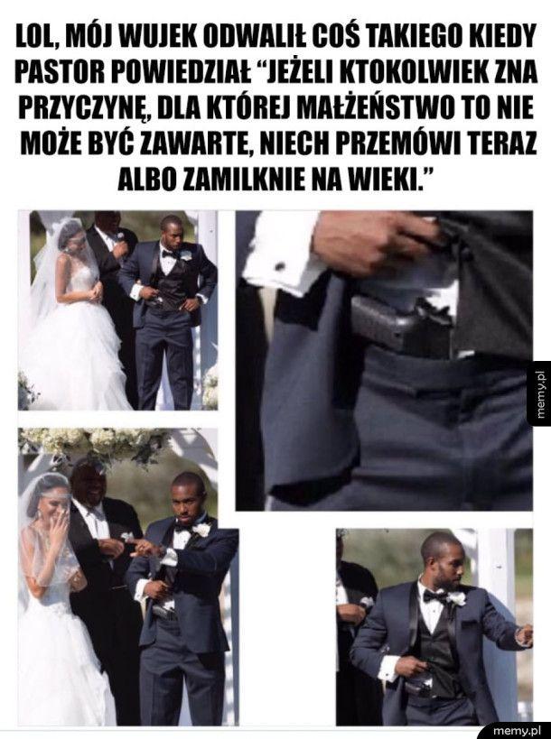 Tymczasem na Amerykańskim ślubie