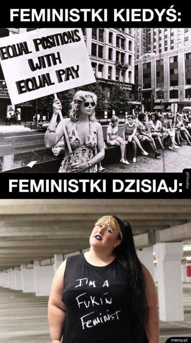Tak wyglądają feministki