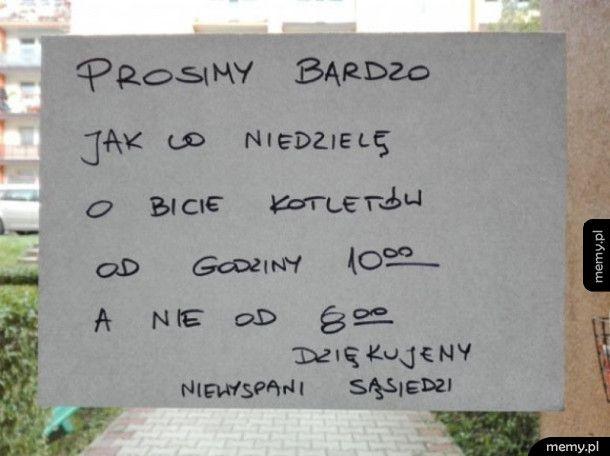 Niedziela w polskim domu