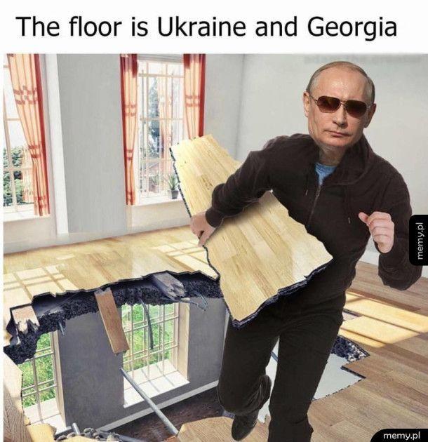 Ukraina i Gruzja to podłoga