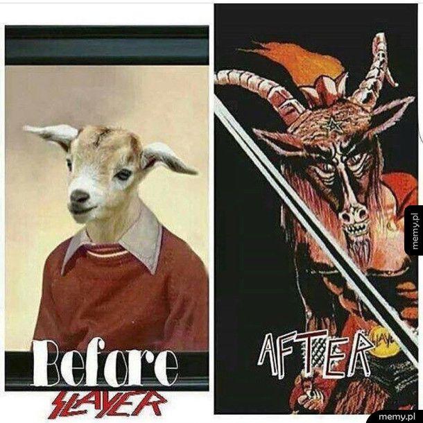 Przed Slayerem i po