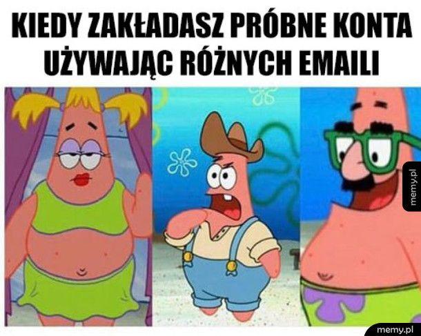 Patrick1, Patrick2, Patrick3...
