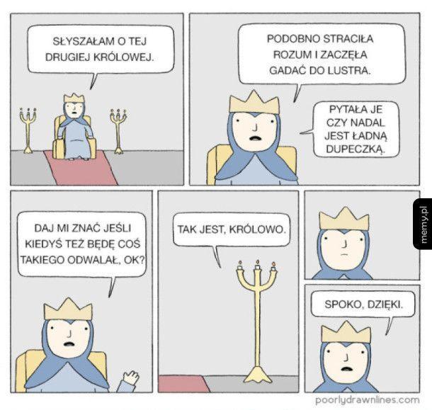 Szalona królowa