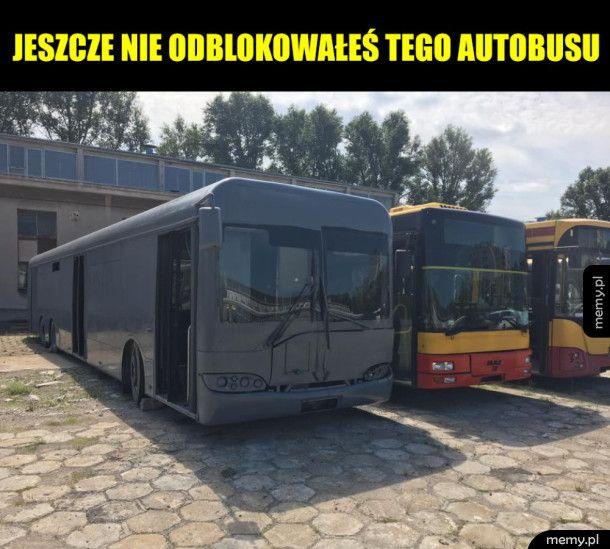 Ten autobus jest dla ciebie niedostępny - wymagane DLC