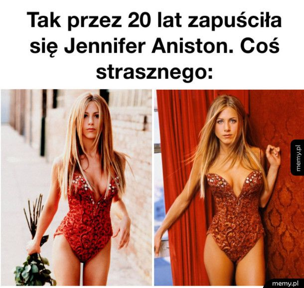 Tak zapuściła się Jennifer Aniston