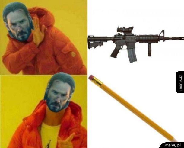 Jedyna prawilna broń