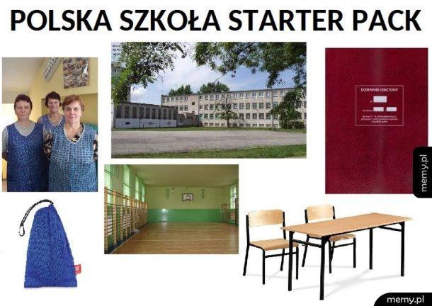 Polska szkoła Starter Pack