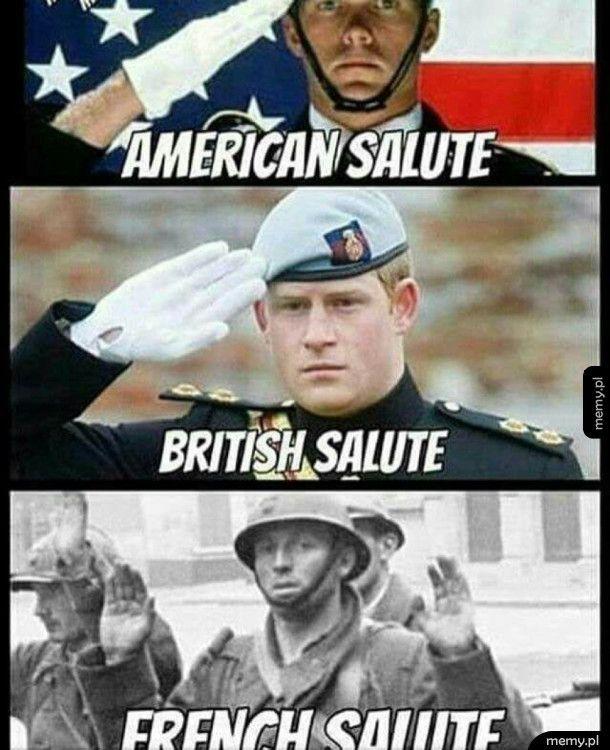 Francuzi salutują
