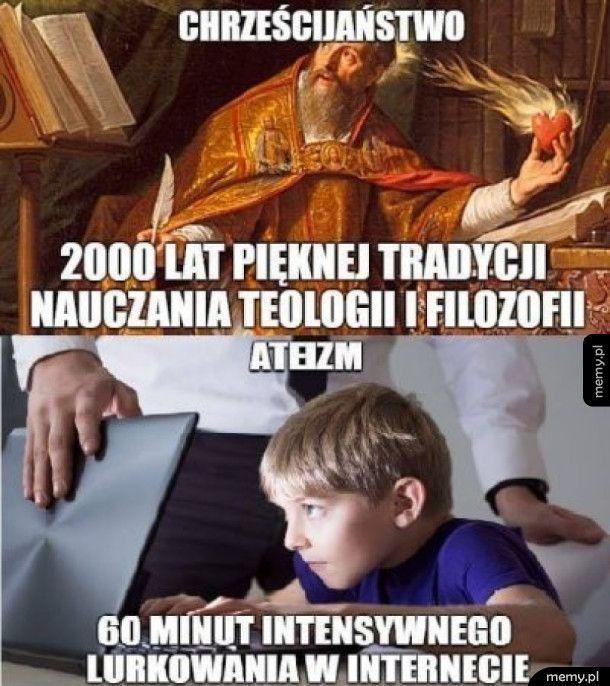 Chrześcijaństwo vs Ateizm