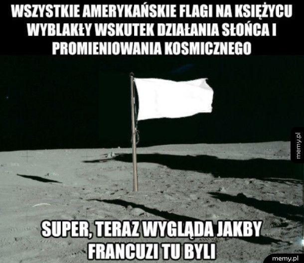 Flagi na Księżycu