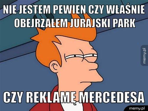 Mercedesy wszędzie