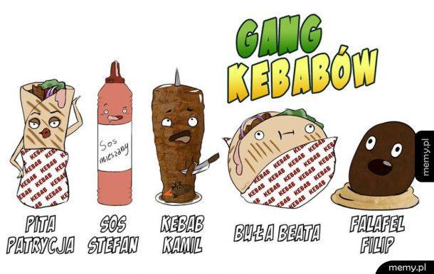 Gang kebabów