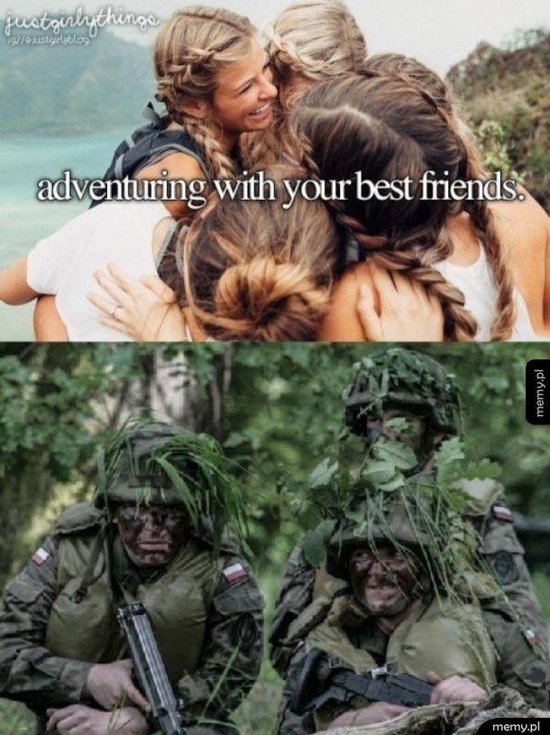 Zwiedzić świat z przyjaciółmi