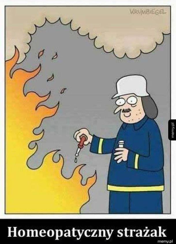 Taki strażak