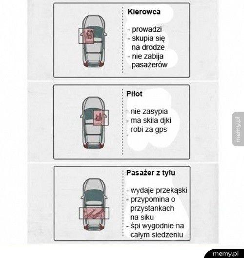 Trafny opis pasażerów