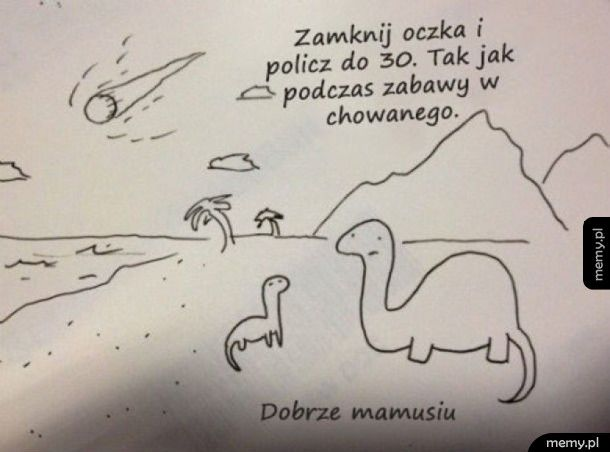 Dinozaur z mamą