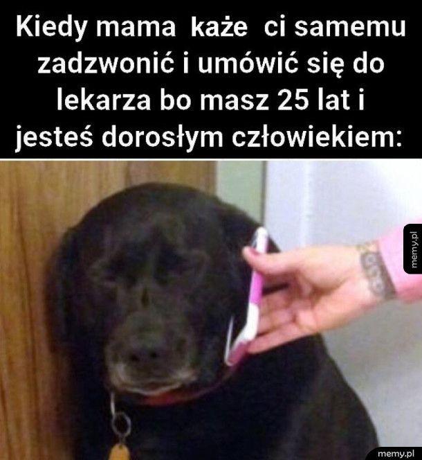 Kiedy mama każe ci samemu zadzwonić