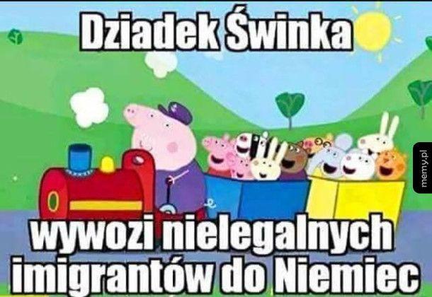 Dziadek świnka