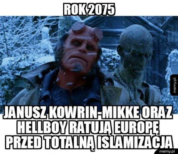 Janusz z Hellboy'em ratują