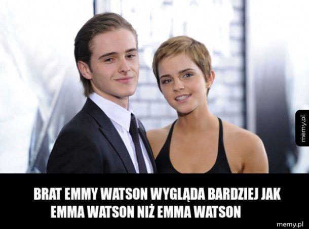 Emma z bratem