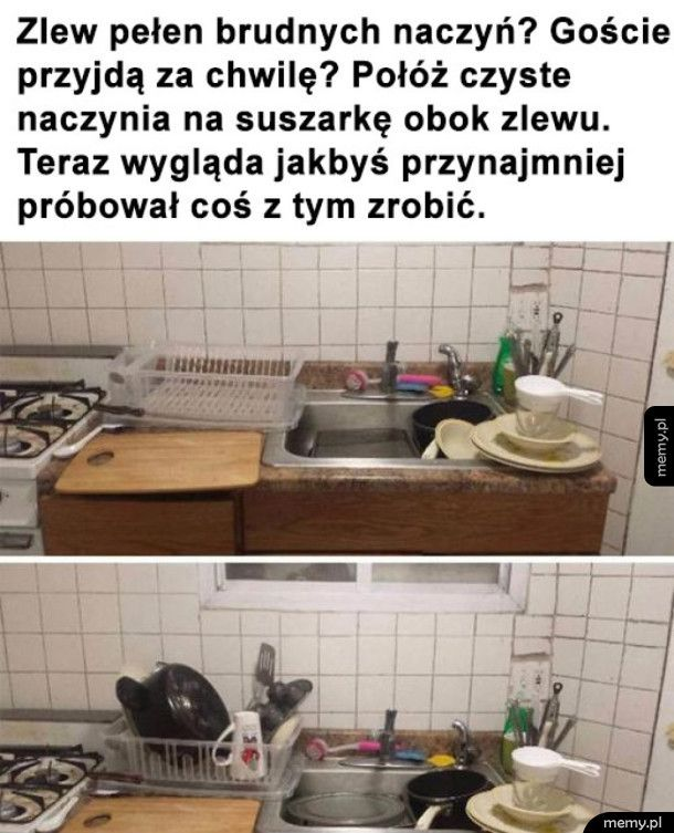 Lifehack na zmywanie
