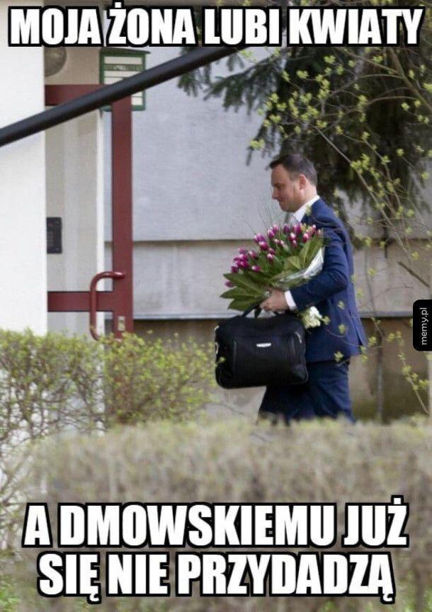 Kwiaty dla żony