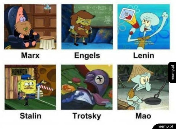 Komunizm według spongeboba