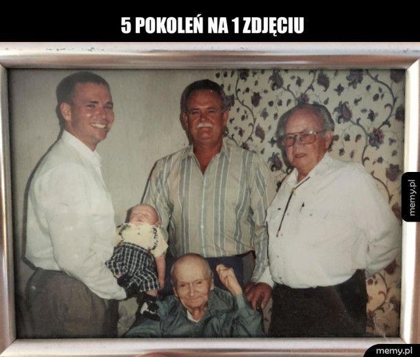5 pokoleń