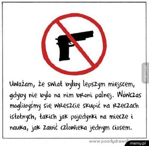 Świat bez broni palnej
