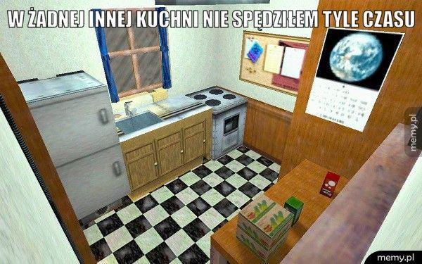 W żadnej innej kuchni nie spędziłem tyle czasu