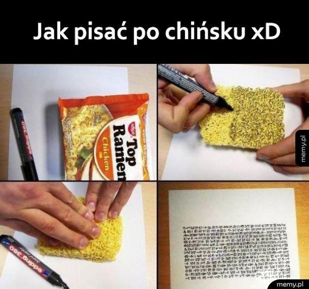 Chiński jest prosty