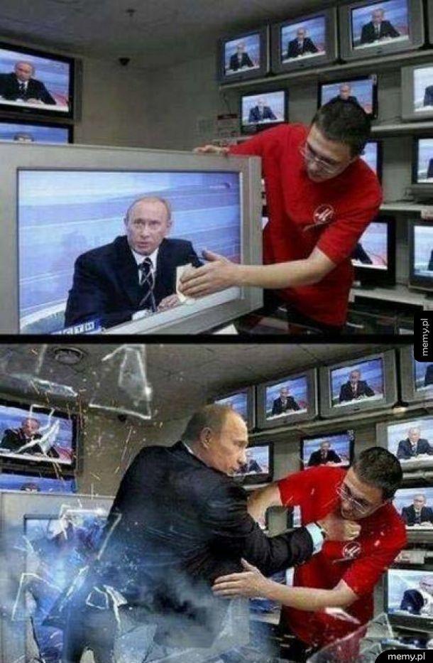 Nie wkurzaj Putina