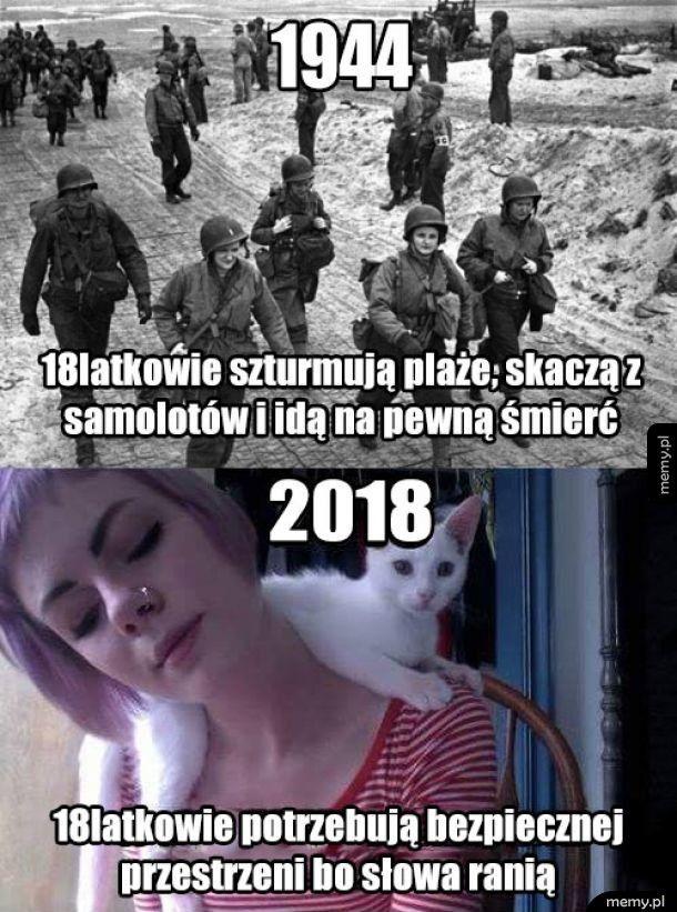 18latkowie kiedyś i dziś