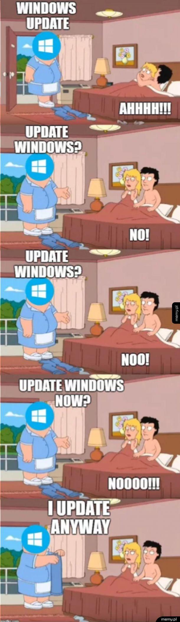 Aktualizacja systemu Windows 10