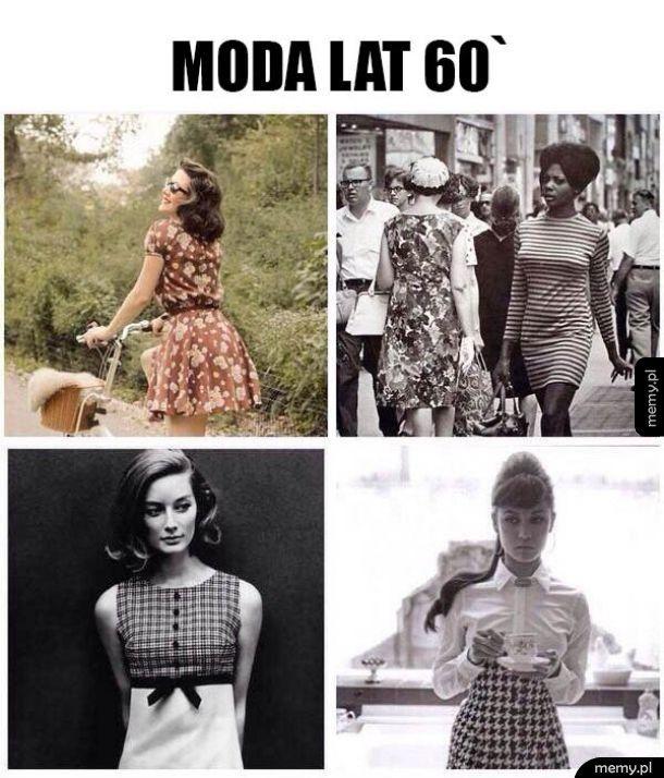 Moda lat 60
