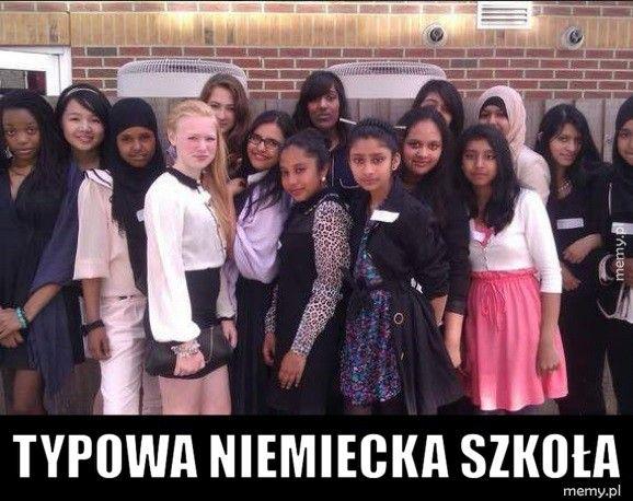 Typowa niemiecka szkoła