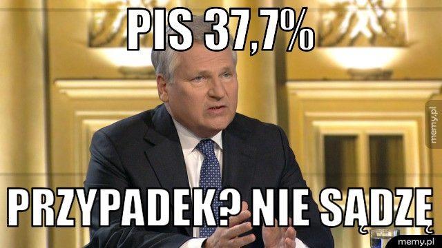 PIS 37,7% przypadek? Nie sądzę