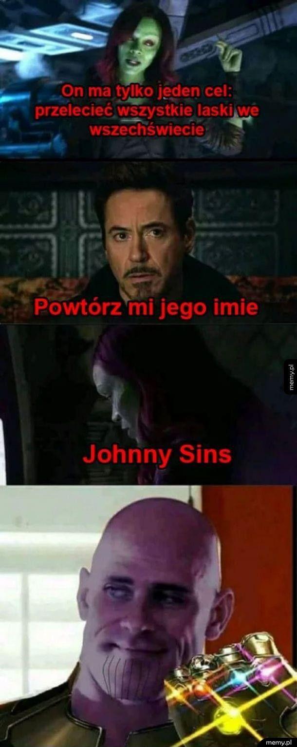 Łysy z Avengers