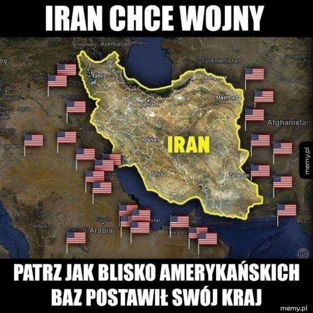 Iran chce wojny