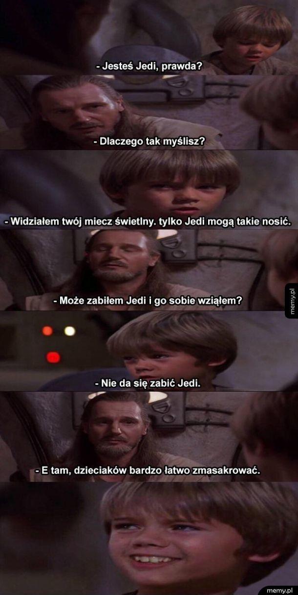 Nie da się zabić Jedi