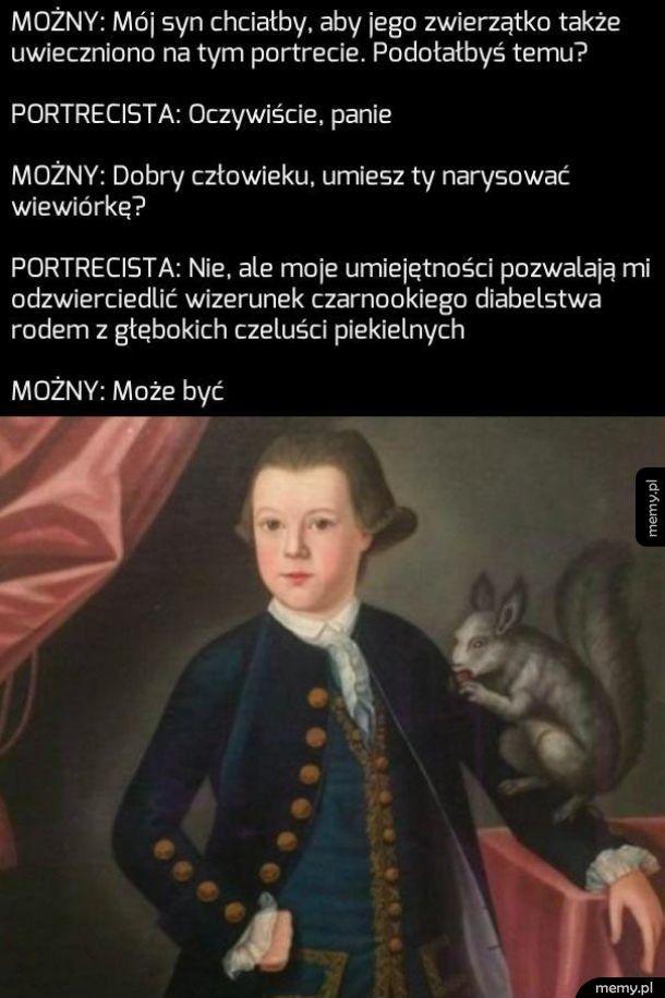 Historia pewnego portretu