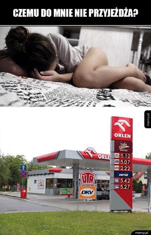 Ceny paliwa poszybowały w górę