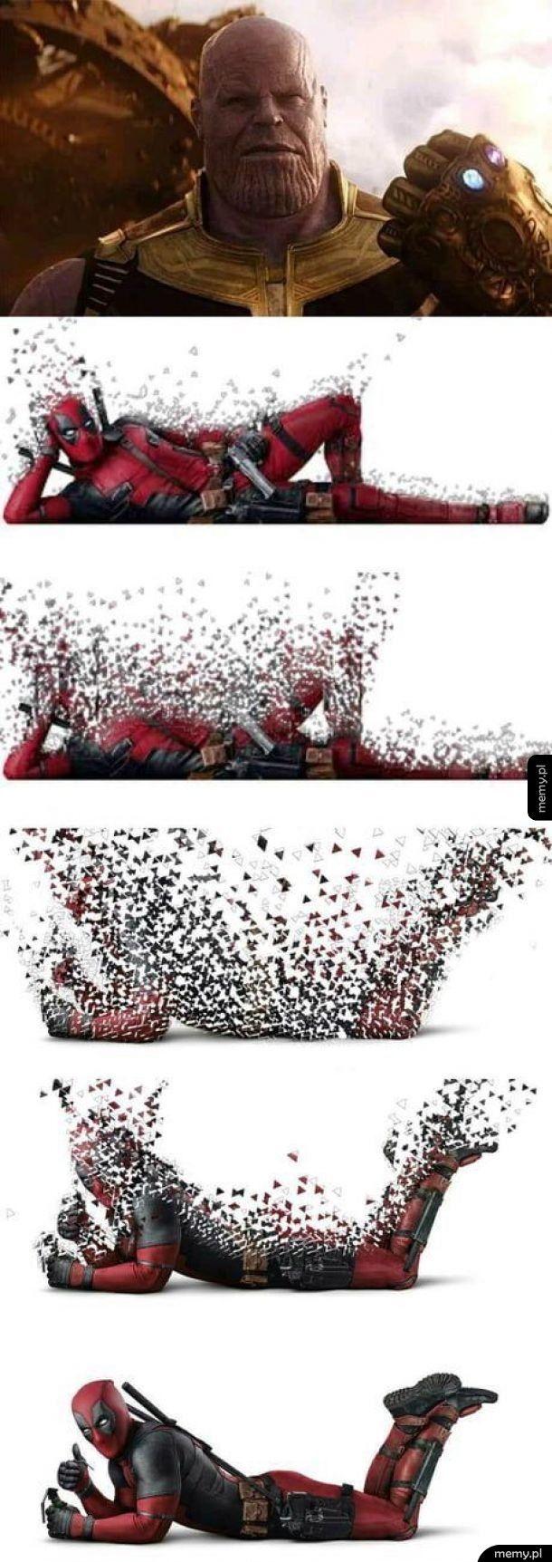 Thanos kontra Deadpool