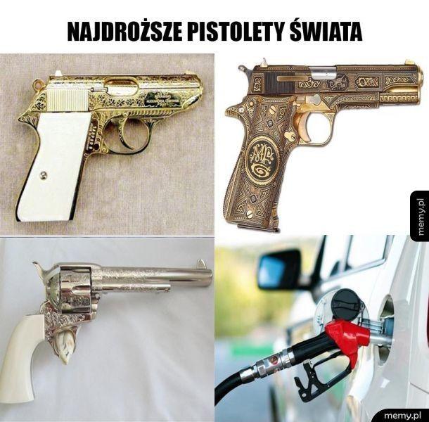 Najdroższe pistolety