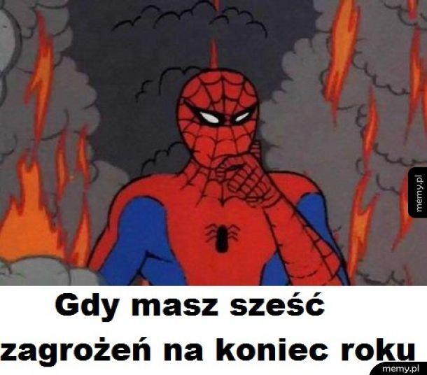 Spiderman w tarapatach